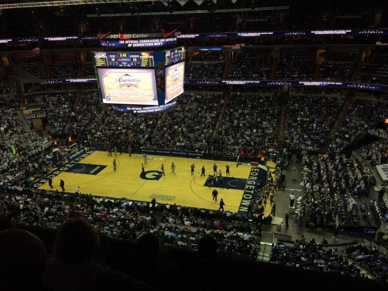 Seating view for Verizon Center Section 419 Row D Seat 10