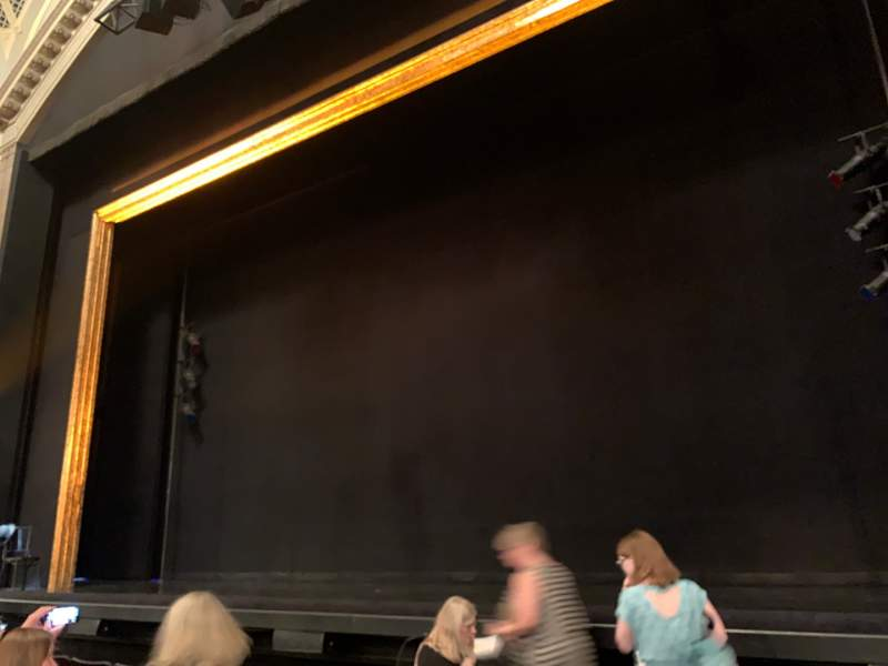 Seating view for Ambassador Theatre Section Orchestra R Row D Seat 2