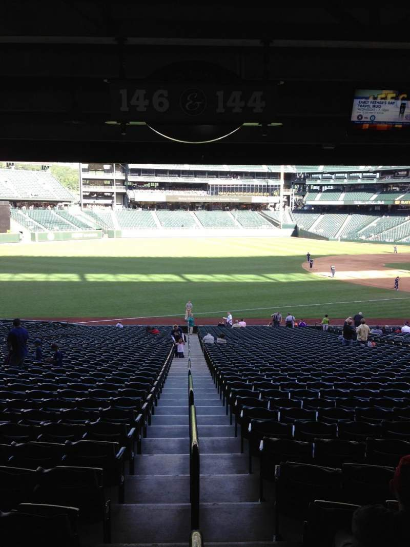 Seating view for SafeCo Field Section 146 Row 36 Seat 32
