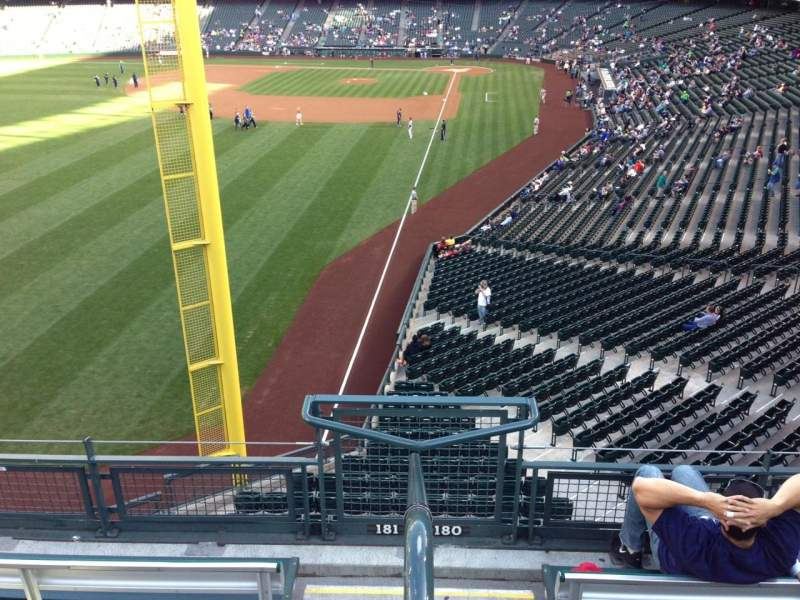 Seating view for SafeCo Field Section 181 Row 2 Seat 23