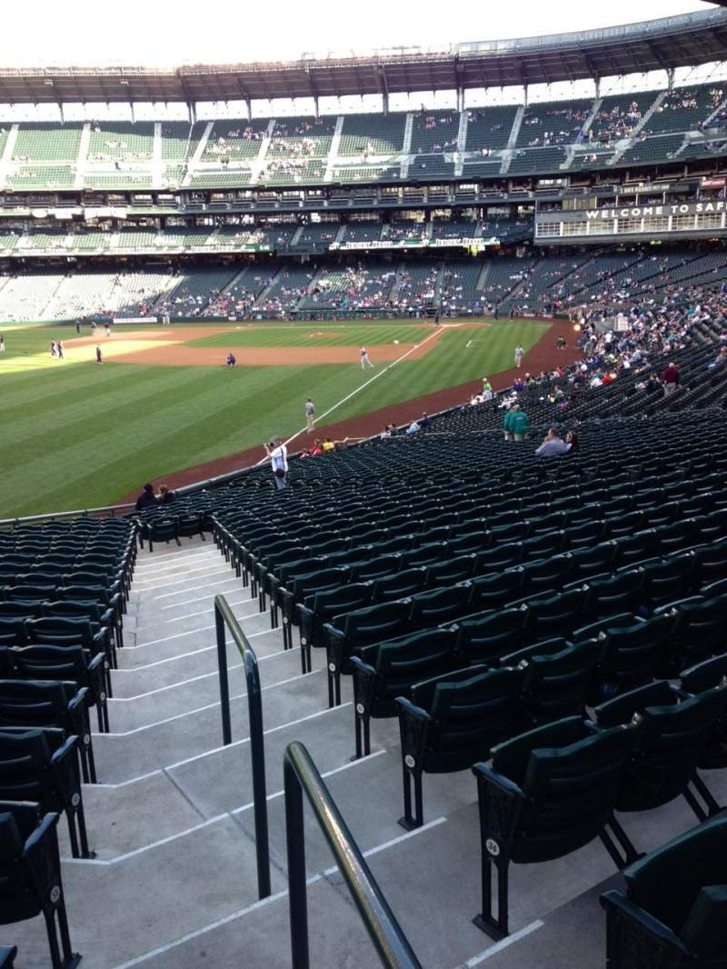 Seating view for SafeCo Field Section 150 Row 35 Seat 34