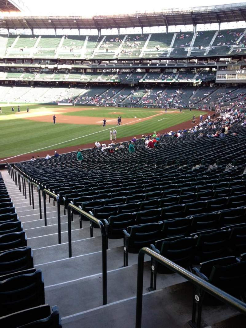 Seating view for SafeCo Field Section 147 Row 35 Seat 34