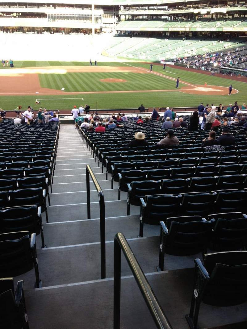 Seating view for SafeCo Field Section 138 Row 35 Seat 34