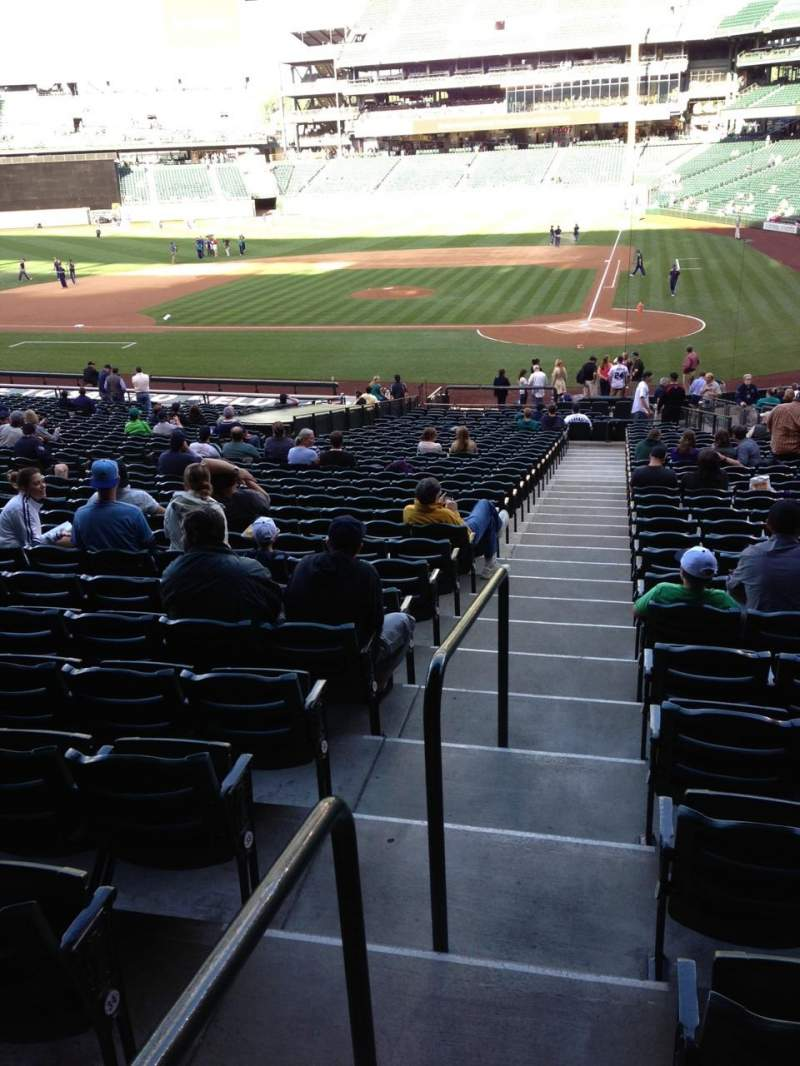 Seating view for SafeCo Field Section 134 Row 35 Seat 34