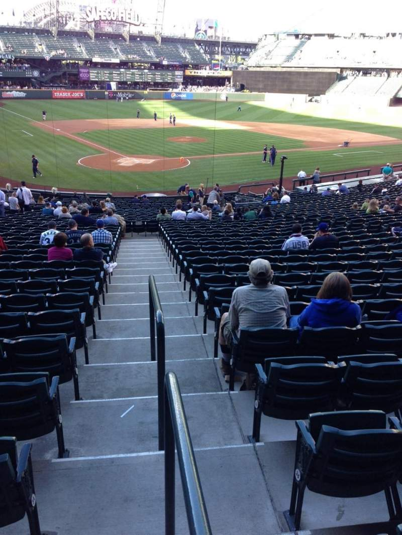 Seating view for SafeCo Field Section 127 Row 35 Seat 34