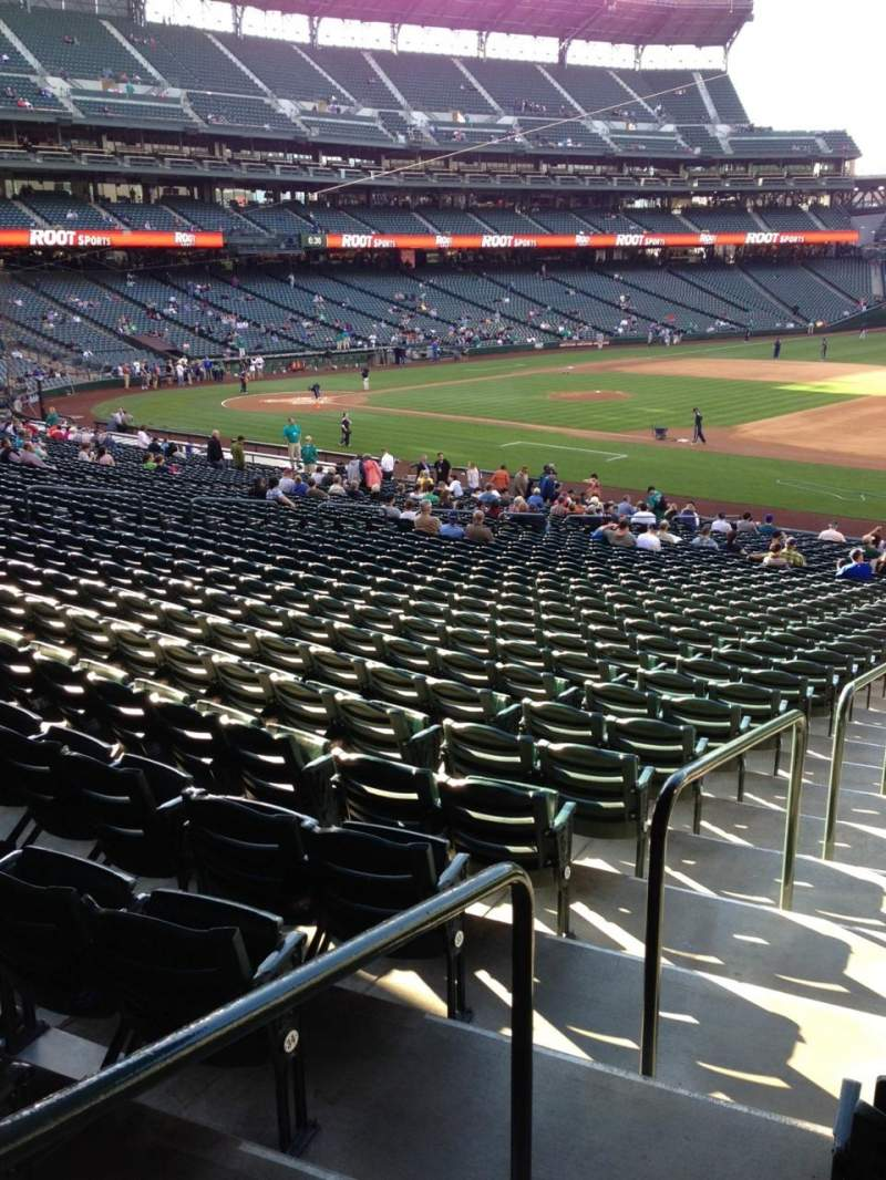 Seating view for SafeCo Field Section 118 Row 35 Seat 34