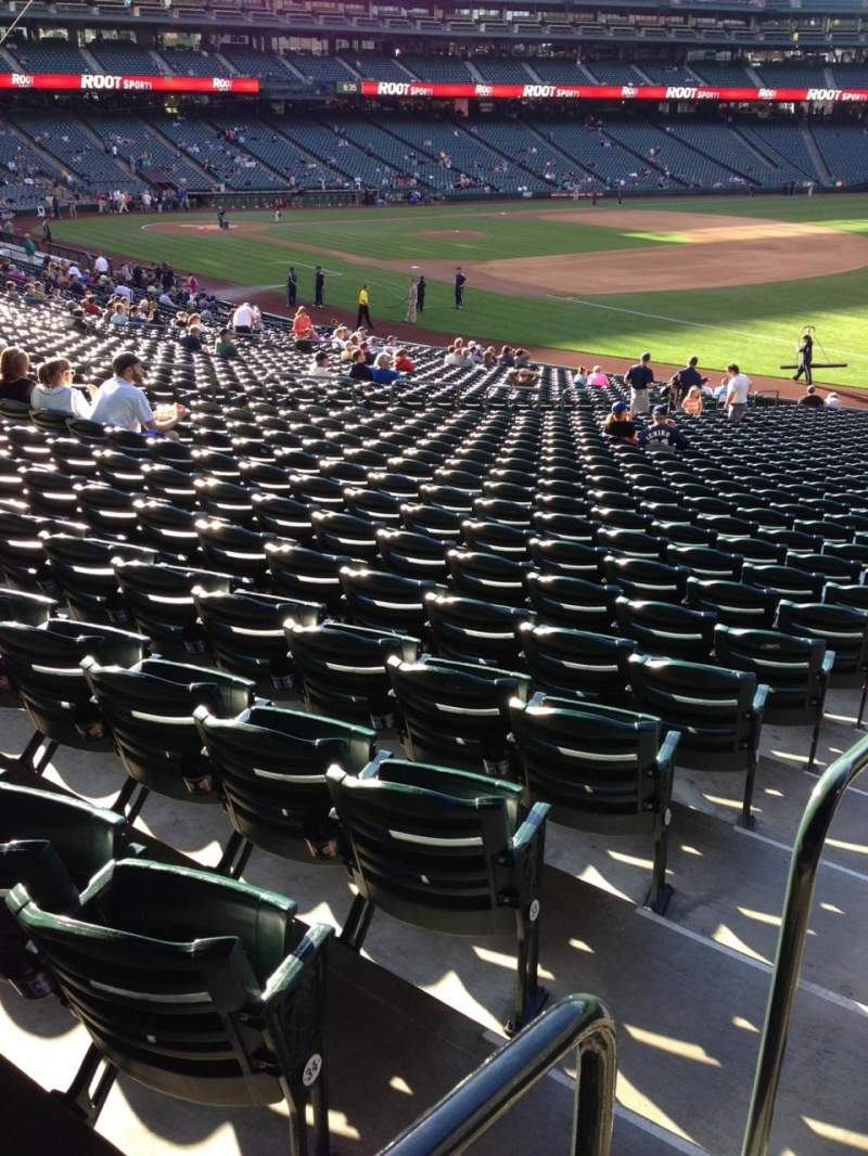 Seating view for SafeCo Field Section 115 Row 35 Seat 34