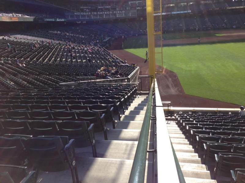 Seating view for SafeCo Field Section 107 Row 36 Seat 34