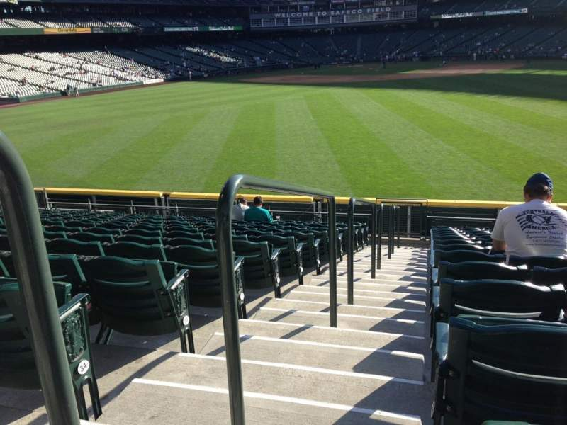 Seating view for SafeCo Field Section 102 Row 35 Seat 34