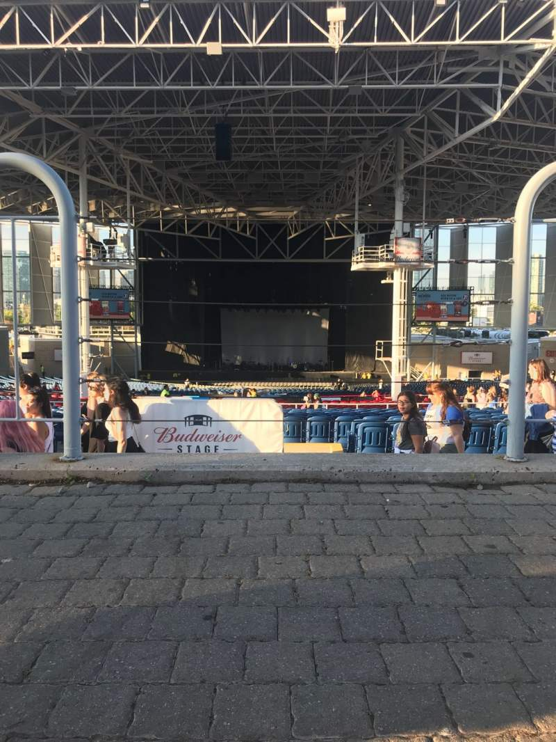 Seating view for Budweiser Stage Section Lawn