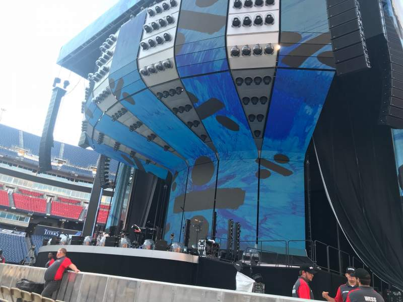 Seating view for Nissan Stadium Section B Row 4 Seat 13