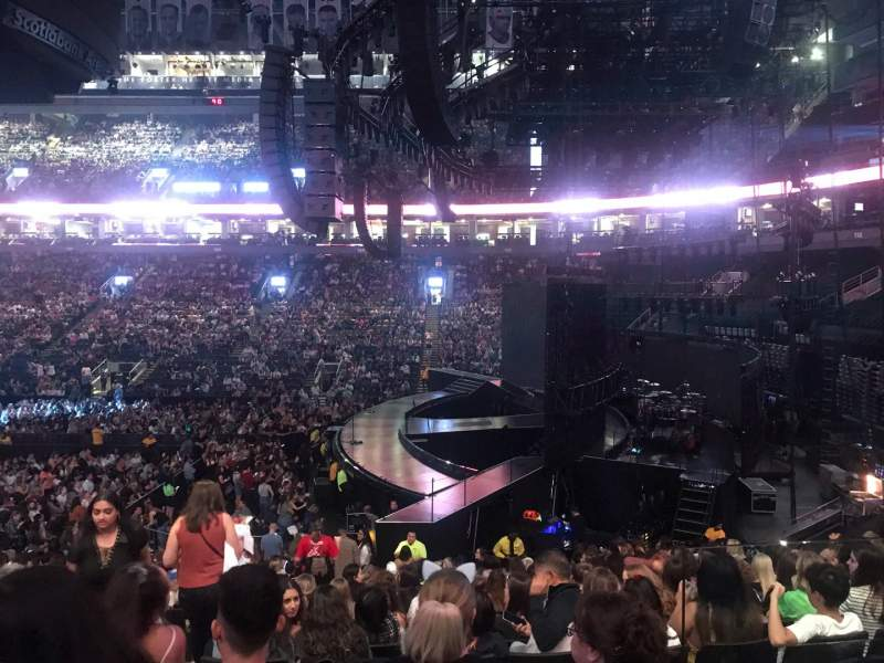 Seating view for Scotiabank Arena Section 117 Row 21 Seat 15