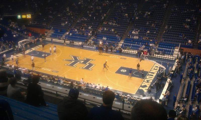 Rupp Arena, section: 230, row: K, seat: 6