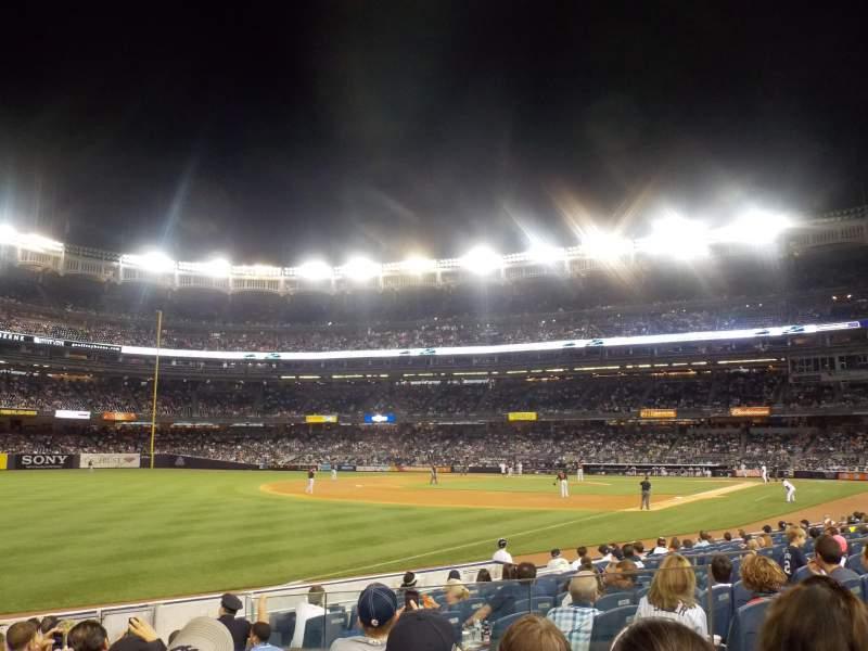 Yankee Stadium, section: 129, row: 12, seat: 15