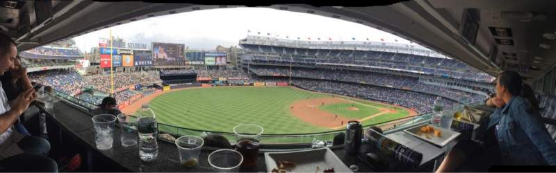 Seating view for Yankee Stadium Section Suite 59 Row B Seat 12