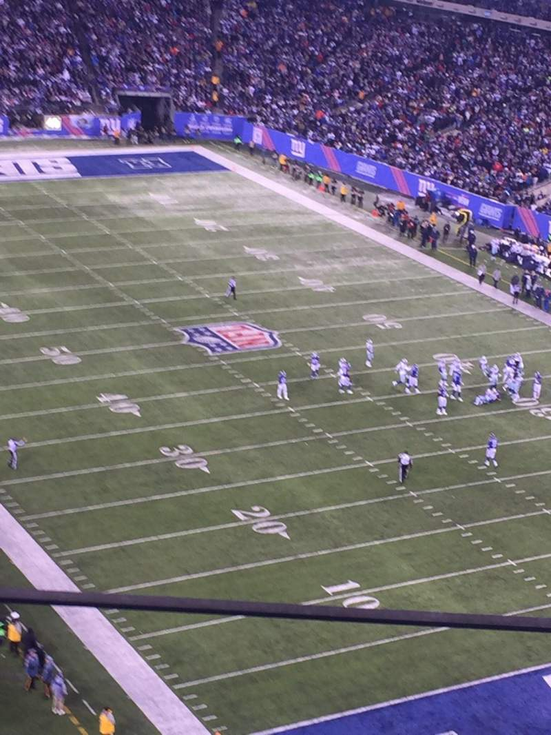 Seating view for MetLife Stadium Section 305 Row 7
