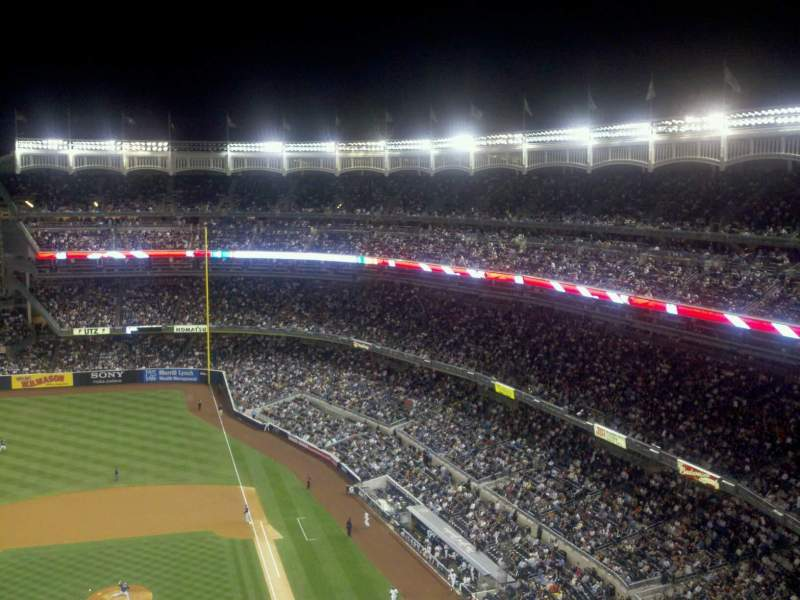 Seating view for Yankee Stadium Section 423 Row 9 Seat 13