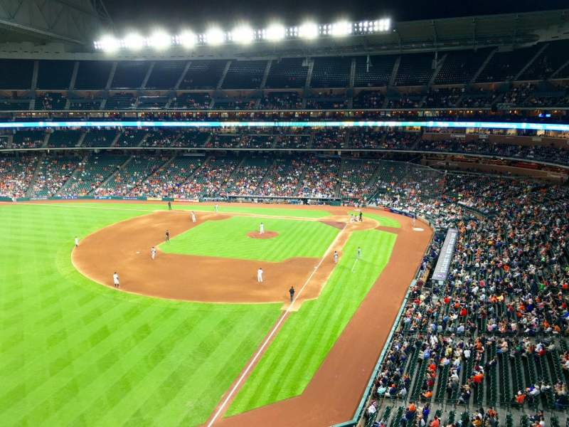 Seating view for Minute Maid Park Section 305 Row 1 Seat 9