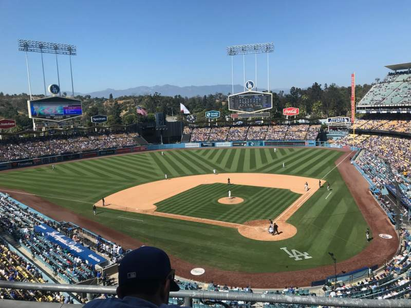 Seating view for Dodger Stadium Section 5RS Row C Seat 11