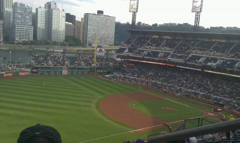 Seating view for PNC Park Section 330 Row R Seat 1