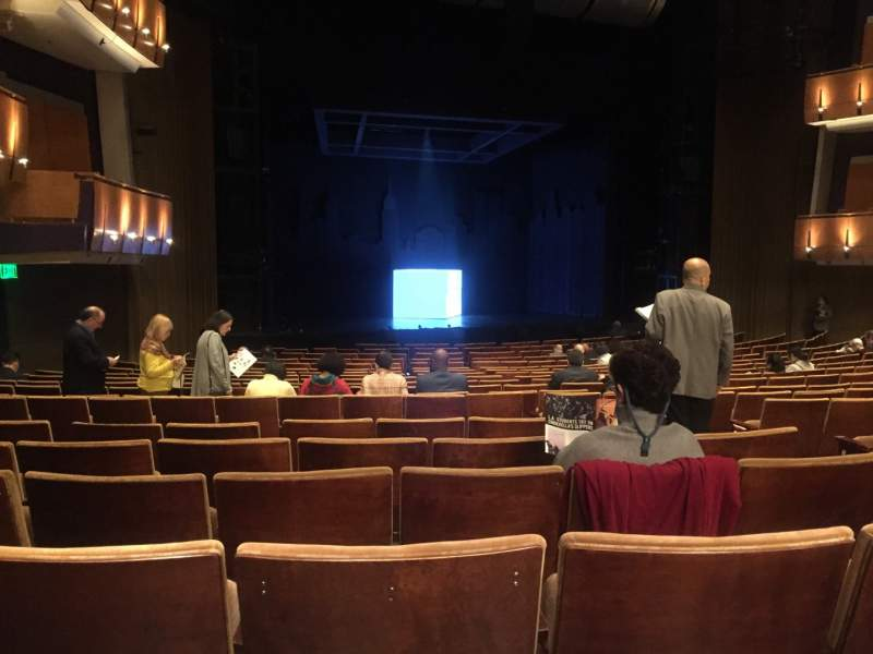 Seating view for Ahmanson Theatre Section Orchestra Row T Seat 48