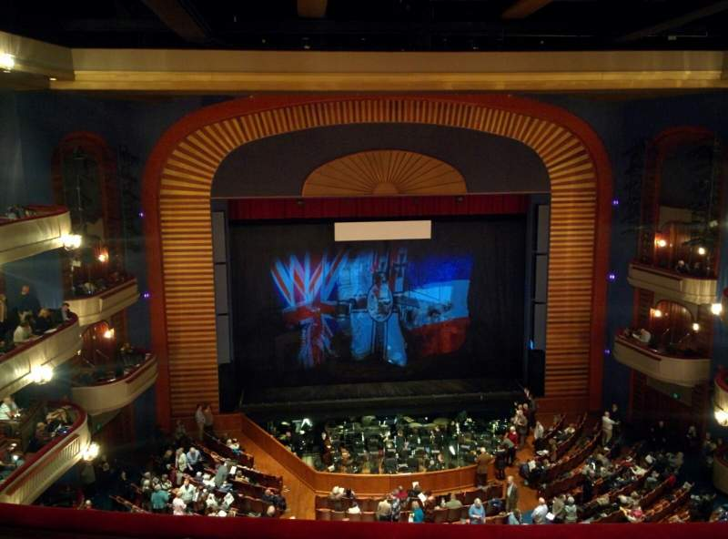 Seating view for Ordway Center for the Performing Arts - Music Theater Section Gallery Row D Seat 207