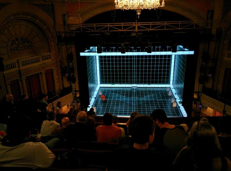 Seating view for Ethel Barrymore Theatre Section Rear Mezzanine C Row F Seat 107