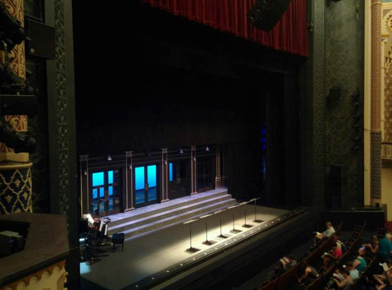 Seating view for Mainstage at the New York City Center Section Grand Tier Row B Seat 19