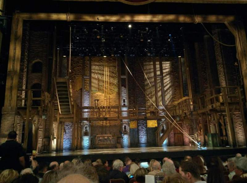 Seating view for Forrest Theatre Section Orchestra C Row K Seat 111