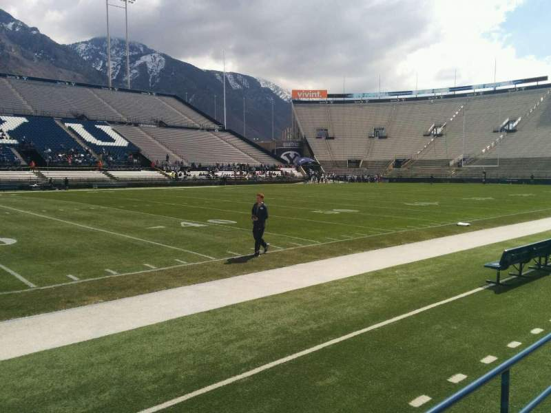 Seating view for LaVell Edwards Stadium Section 7 Row 2 Seat 1