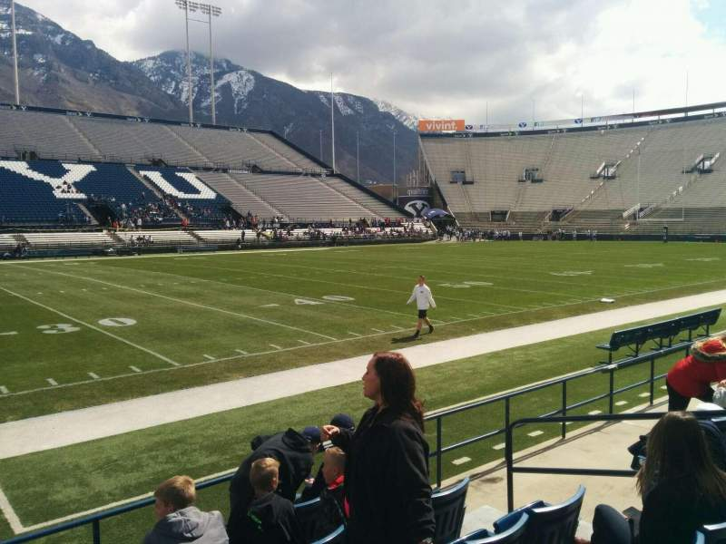 Seating view for LaVell Edwards Stadium Section 7 Row 6 Seat 7