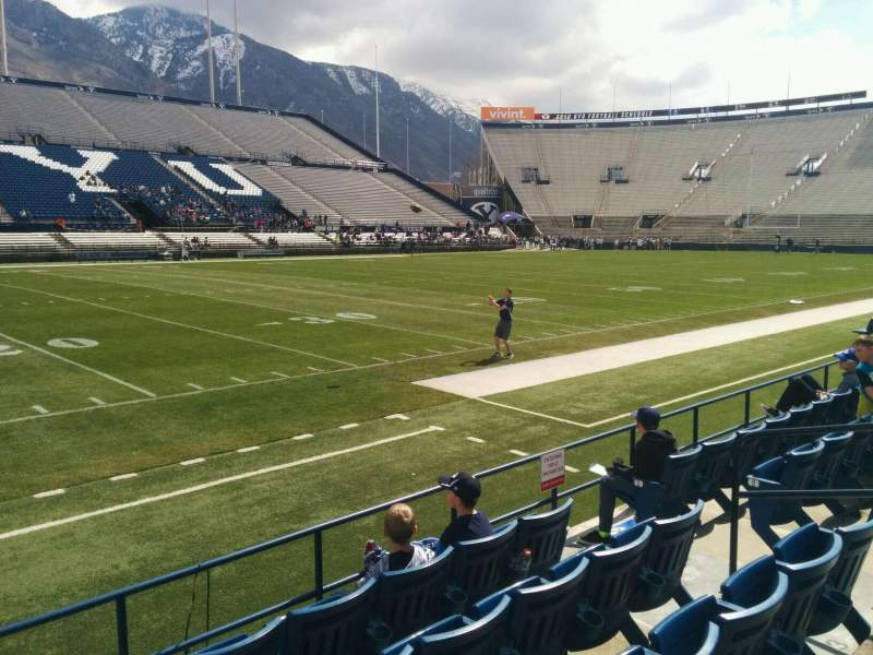 Seating view for LaVell Edwards Stadium Section 8 Row 5 Seat 8