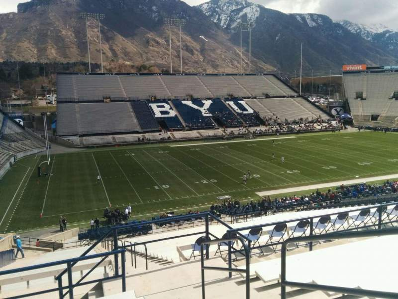Seating view for LaVell Edwards Stadium Section 109 Row 9 Seat 2