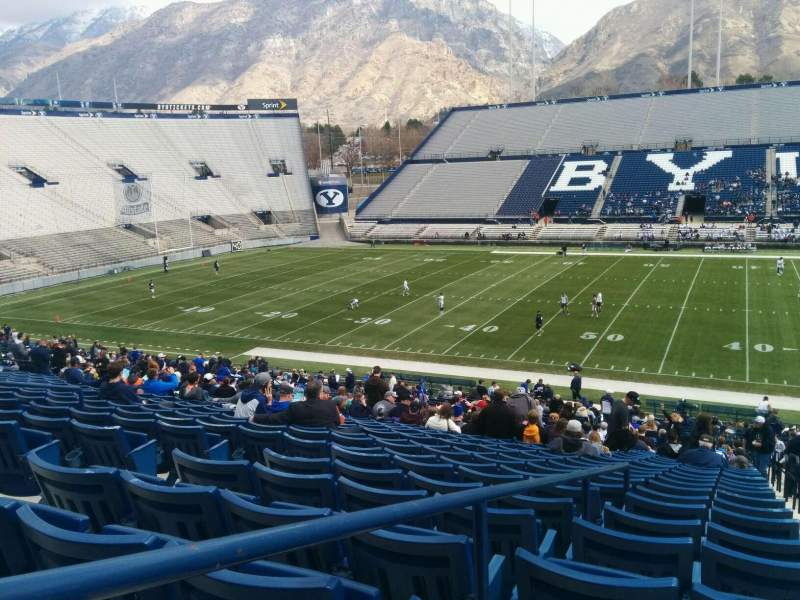 Seating view for LaVell Edwards Stadium Section 5 Row 20 Seat 5