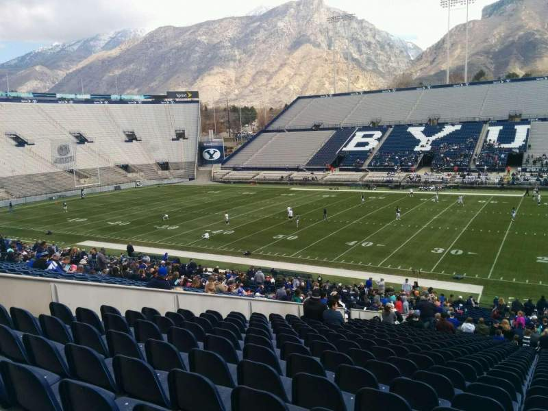 Seating view for LaVell Edwards Stadium Section 3 Row 39 Seat 3