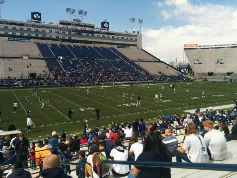 Seating view for LaVell Edwards Stadium Section 37 Row 18 Seat 2