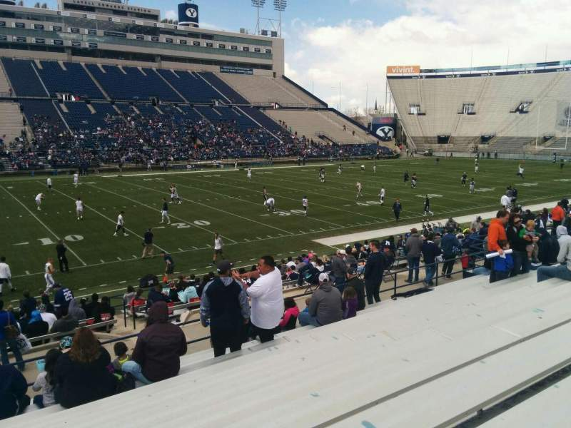 Seating view for LaVell Edwards Stadium Section 36 Row 20 Seat 30