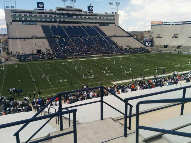 Seating view for LaVell Edwards Stadium Section 137 Row 5 Seat 3