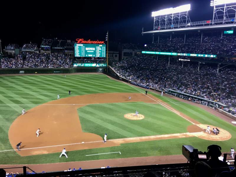 Seating view for Wrigley Field Section 310L Row 6 Seat 4