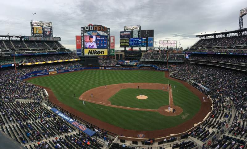 Seating view for Citi Field Section 419 Row 1 Seat 10