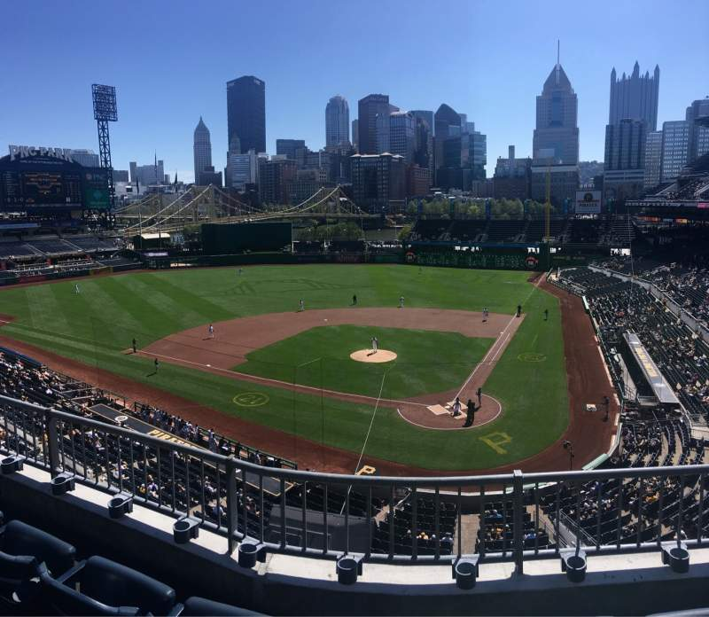 Seating view for PNC Park Section 219 Row C Seat 10