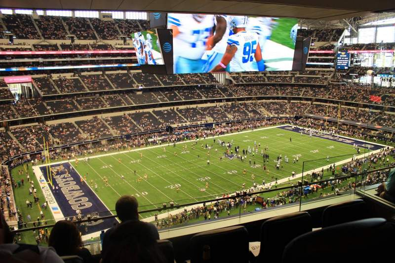 Seating view for AT&T Stadium Section Suite 510 Row 1 Seat 6