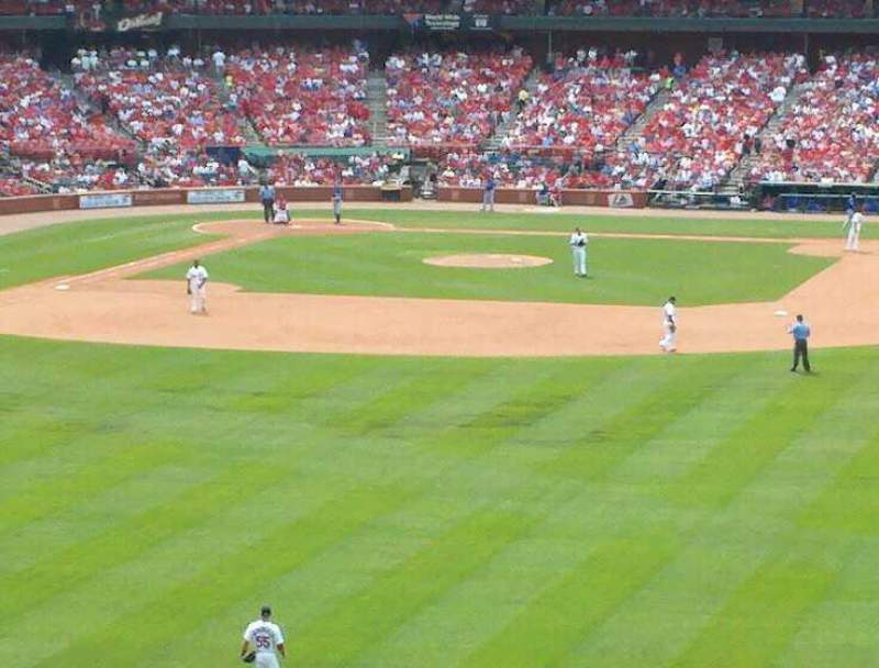 Seating view for Busch Stadium Section 507 Row 33 Seat 10
