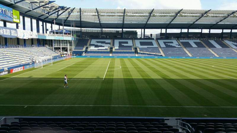 Seating view for Children's Mercy Park Section 103 Row 15 Seat 8
