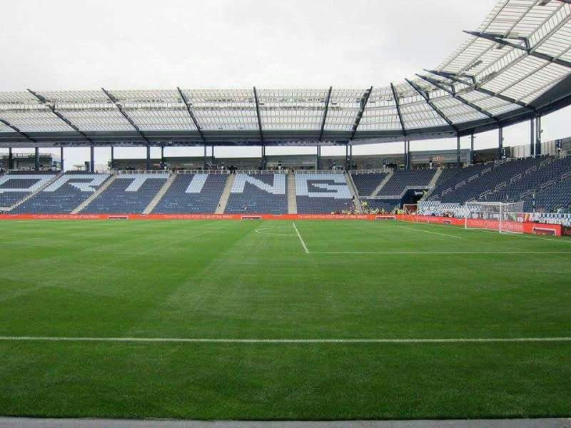 Seating view for Children's Mercy Park Section F8 Row 03 Seat 08