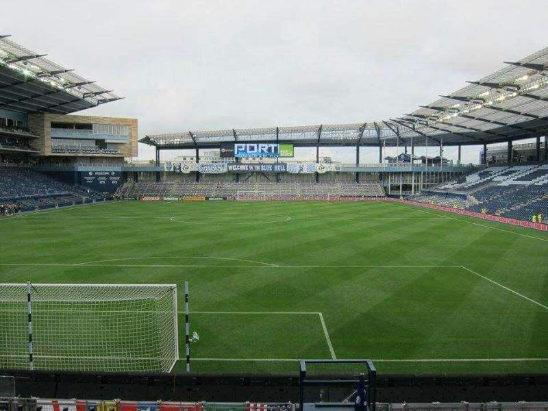 Seating view for Children's Mercy Park Section 119 Row 11 Seat 12