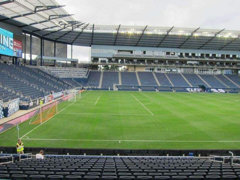 Children's Mercy Park, section: 126, row: 17, seat: 10