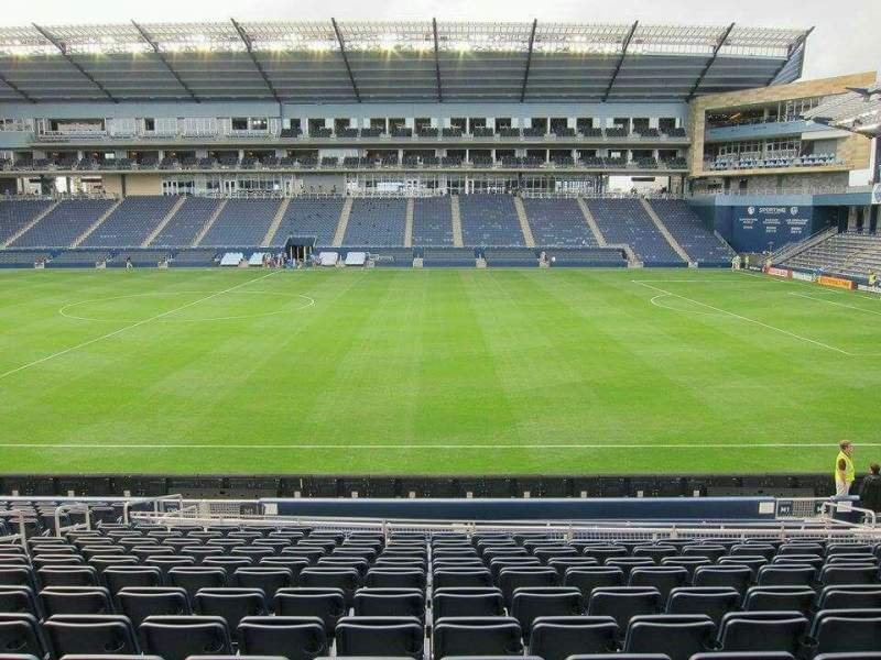 Children's Mercy Park, section: 131, row: 18, seat: 10