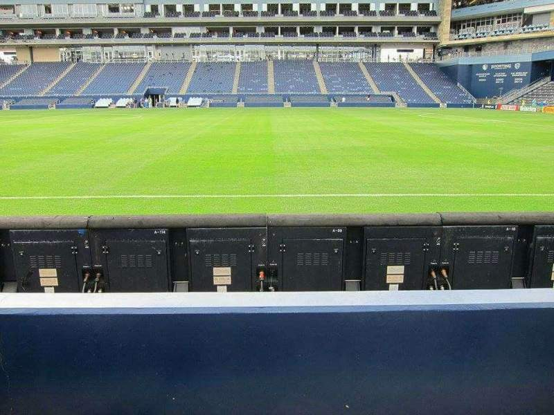 Seating view for Children's Mercy Park Section M2 Row 04 Seat 13