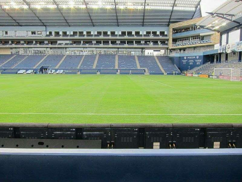 Seating view for Children's Mercy Park Section 132 Row 12 Seat 12